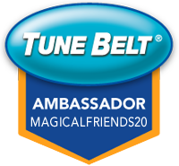 Tune Belt Ambassador Badge MagicalFriends20