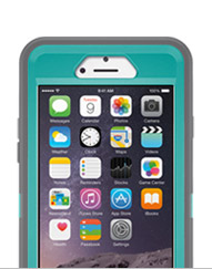 iPhone 6 with Otterbox case