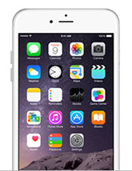 iPhone 6 Plus without case
